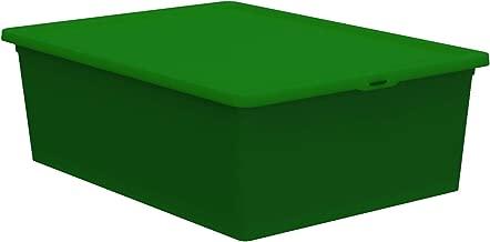 QUTU Light Box Storage Box - Green, H 19 cm x W 11.5 cm x D 33.5 cm