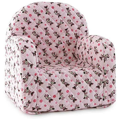 Nada Home 3558 Disney Minnie Mouse Sessel, offizieller Stuhl für Mädchen Kinderzimmer