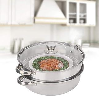Olla de vapor, Olla de vapor para cocinar utensilios de cocina de acero inoxidable, Vapor, para el hogar para la cocina
