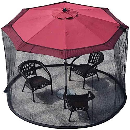 Pantalla al Aire Libre Paraguas Sombrilla for el Patio de la Cubierta Mosquitero jardín al Aire Libre Paraguas Parasol Tabla Mosquitera Pantalla de Acoplamiento (Color: 275 * 230cm) ZDWN