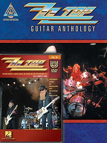 ZZ Top Guitar Anthology Book / ZZ Top Guitar Play-Along, Vol. 38