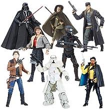 Star Wars The Black Series 6-Inch Action Figure Wave 17 Case Complete 8 pcs set DARTH VADER,REY ISLAND JOURNEY,4LOM,LANDO CALRISSIAN,RANGE TROOPER,QIRA CORELLIA,HAN SOLO,DJ CANTO BIGHT
