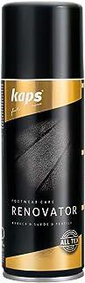 Kaps Renovator - Spray pour le Cuir, Nubuk, Daim & Velours - Entretien, Réhabilitation et Ravivement des Couleurs - Revita...