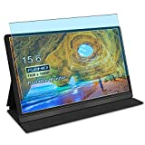 Puccy 2 Pack Anti Blue Light Screen Protector Film, compatible with SIMPFUN Portable Monitor 15.6' TPU Guard ( Not Tempered Glass Protectors )