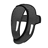 Anti Snoring Chin Strap for Cpap Users [2019 Upgrade] The Adjustable Snore Solution - Stop Snoring Comfortable Devices, Breathable, Flexible and Easily Adjustable Chin Straps (Black-01)