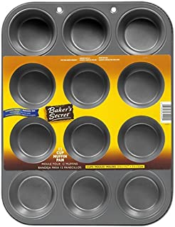 Baker's Secret Basics Nonstick 12-Cup Muffin Pan