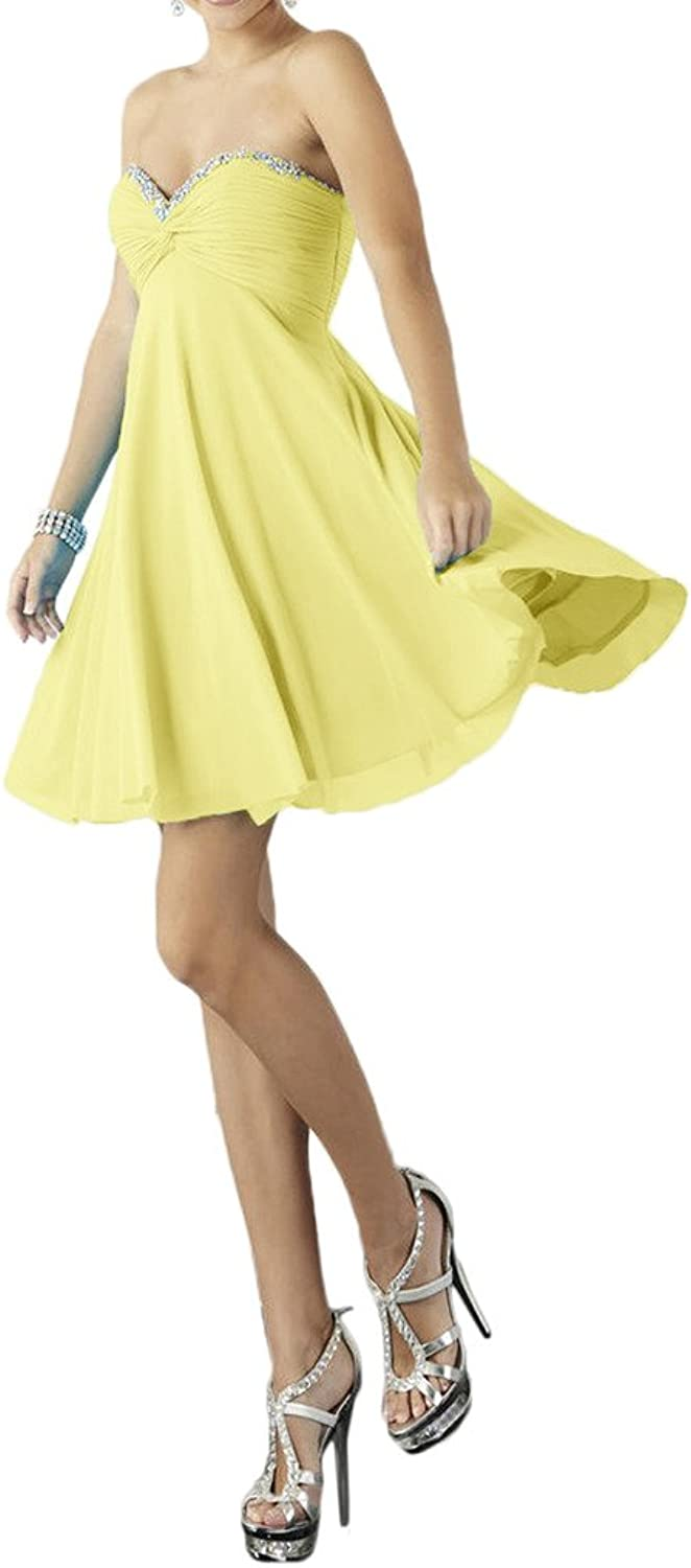 Avril Dress Simple Strapless Lace up Mini Length Bridesmaid Cocktail Dress