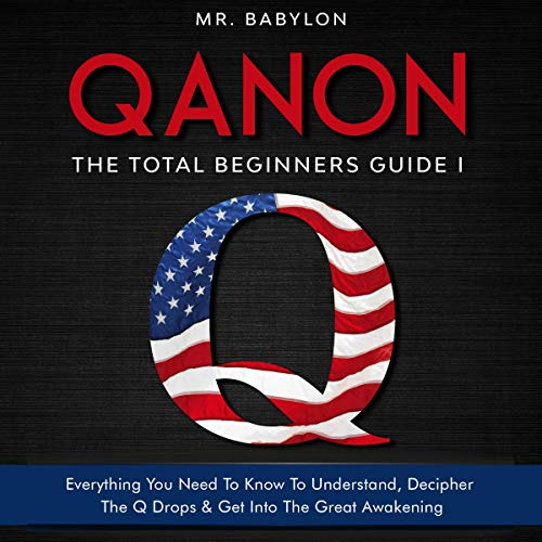 QAnon: The Total Beginners Guide I cover art