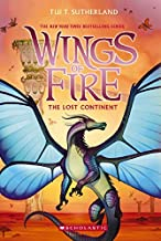 Wings of Fire #11: The Lost Continent by Tui T. Sutherland Paperback