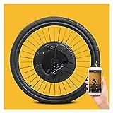 GJZhuan Kit De Conversión De Bicicleta Eléctrica De La Rueda Eléctrica De La Rueda del Mortor Delantera 36V 350W con El Kit De Conversión De Bicicletas De Bicicleta De 20'24' 26'700C