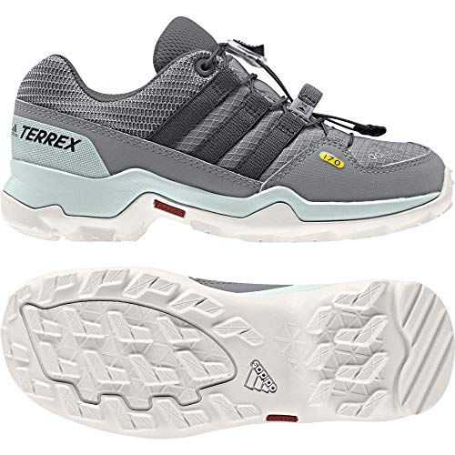 adidas Unisex-Kinder Terrex Trekking-& Wanderhalbschuhe, Grau (Gritre/Gritre/Carbon 000), 28 EU