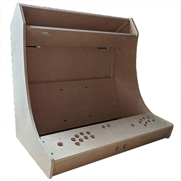 LEP1 海关拱廊柜套件易于组装 Bartop 桌面 LVL32,最多可容纳 32 个屏幕 Sanwa