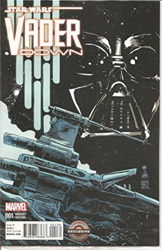Star Wars Vader Down #1 Gamestop Exclusive Variant Cover Edition Comic Book