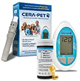 Cera-Pet Blutzuckermessgerät für Hunde und Katzen - komplettes Starterset