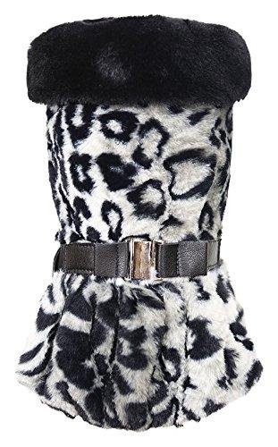 Puppy Angel Glamours Tiger Manteau pour Chien Gris Taille XL