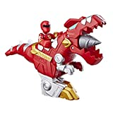 Playskool Heroes Power Rangers Red Ranger & T-Rex Zord 2 Pack, 3' Action Figure & Zord Set, Collectible Toys for Kids Ages 3 & Up
