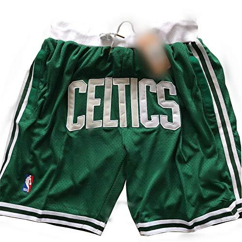ULIIM Alta-qualità Celtics a Pantaloncino da Uomo Boston Celtics Pantaloncini Sportivi Swingman Training Shorts M-XXL