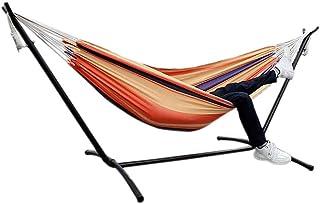 Fiosoji Portátil de Viaje Colgante para Camping Columpio Hamaca Ocio al Aire Libre Hamacas Plegables de Lona Ultraligero Hamaca para Acampar con Mochila