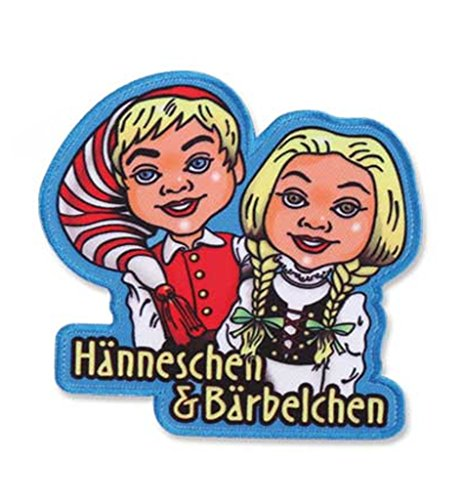 KarnevalsTeufel 1 Bügelbild I Love Köln Verschiedene Motive zur Auswahl Accessoire (Hänneschen & Bärbelchen)