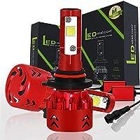夜に車を運転する 60W 9600LM車LEDヘッドライト電球霧ランプH1 H4 H7 H11 9005 9006 IP68 9V-30V 6000K車 車のヘッドライトバルブ (Color : 9005/HB3)