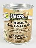 Saicos Premium Hardwax Oil Colourless - Ultra Matt Plus - 0.75 LTR Natural