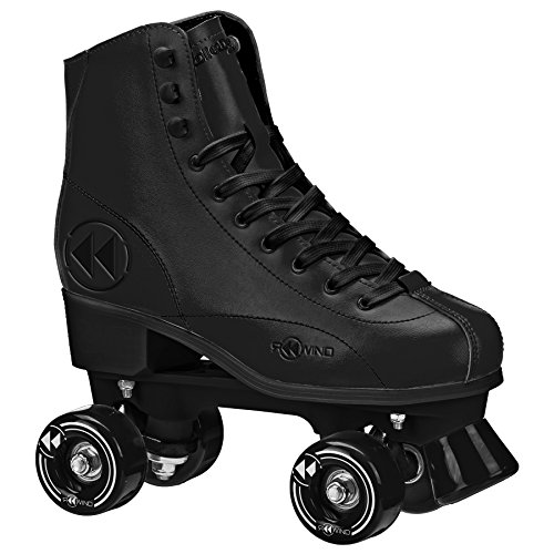 Roller Derby  Rewind Unisex Roller Skates (Size 03) - Black