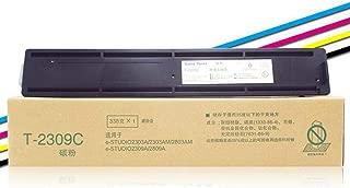 WSHZ Compatible con Cartucho de tóner T-2309C (CS) de la Impresora para Toshiba T-2309C Cartucho de tóner Toner 2303A 2309A 2803 Am tóner T-2309CS