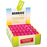 ANABOX 1 x 7 pink Medikamenten-Dosierer, 1 St. Dosette