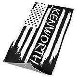 ECNM56B Bandanas sin costuras Bandera americana Kenworth Bandanas deportivas al...