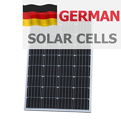 120 W fotónico Universo panel solar células solares hechas de alemana BOSCH, para una autocaravana, caravana, caravana, barco, yate o para cualquier otro vehículo o aplicación marinos, o un desguarnecer chira en energía solar system (120 Watt), optimizada para cargar 12 V (12 V) Batería