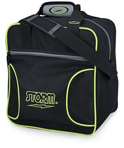Storm Solo Single Tote 1 Ball Bowling-Tasche für 1 Bowlingball und 1 Paar Bowling-Schuhe in verschiedenen Farben
