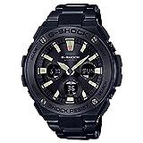 Casio G-Shock G-STEEL de la Hombres Negro Acero inoxidable con baño de iones reloj gsts130bd-1a