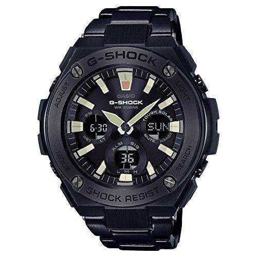 Orologio da uomo Casio G-Shock G-Steel nero in acciaio inossidabile placcato ionico GSTS130BD-1A