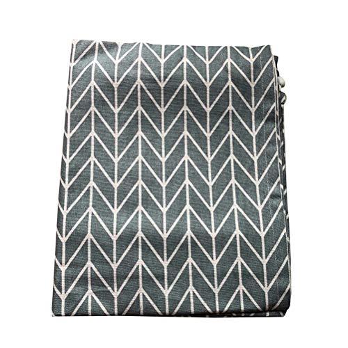 VOSAREA - Funda de protección para frigorífico lavadora (70 x 170 cm), color gris