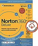 Norton 360 2021 | Deluxe | 3 Dispositivo | 1 Usuario | 12 Meses | PC/Mac | Código de activación enviado por email