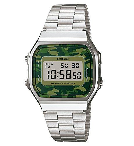 Casio Collection Unisex Retro Armbanduhr A168WEC-3EF