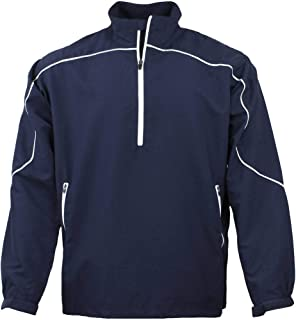 Page and Tuttle Mens Free Swing Peached Windshirt Golf Athletic Outerwear Jacket,