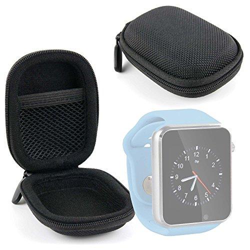DURAGADGET Funda Negra para Reloj YuanGuo® | Smarter® | Smartlife YG8 | Stoga ST-DM360 | Turnmeon | Viwel | VOSMEP