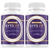 (2 Pack) Kyto Fit Pills 800mg, Kyto Fit Diet Pills Capsules BHB Supplement, Complete Ketogenic Diet for Beginners, BHB Ketones Slim Pills for Energy, Focus for Men Women (120 Capsules)