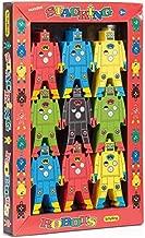 Schylling Robots - Puzzle apilable de Madera