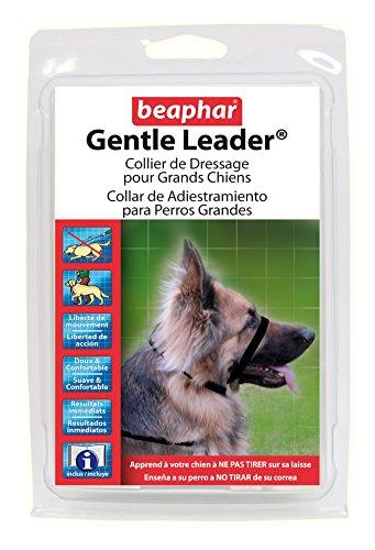 Perky-Pet Beaphar Gentle Leader Dressurhalsband für große Hunde, Schwarz