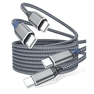 USB C to USB C Cable 10ft, IALEGANT 60W Type C ...
