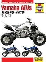 Yamaha Raptor ATVs,  2001-2012 Repair Manual (Haynes Service & Repair Manual)