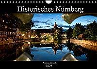 Historisches Nuernberg (Wandkalender 2022 DIN A4 quer): Bilder Nuernberger Wahrzeichen (Monatskalender, 14 Seiten )