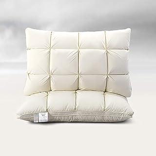 Oreillers en duvet, oreillers de remplacement personnels remplis de coton, oreillers blancs pour l'intérieur de la maison ...