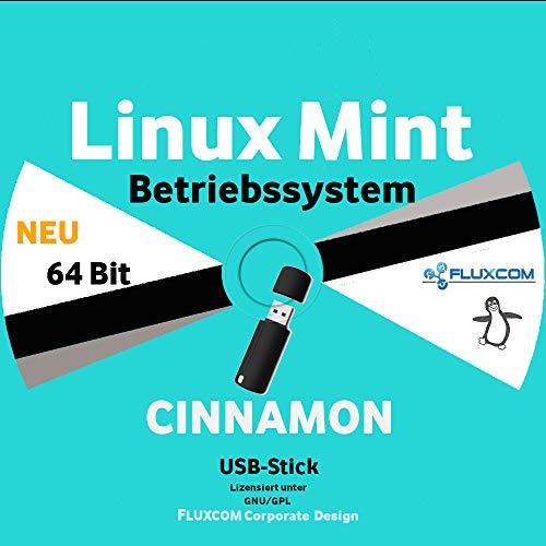 Linux Mint 20.2 Cinnamon USB Stick, 64 Bit, Betriebssystem auf deutsch