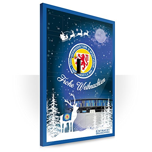 Eintracht Braunschweig Adventskalender mit Schokolade