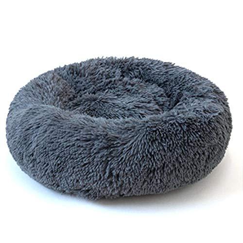 Cama Redonda Mascotas Donut Cuddler Sofa Cojín De Cama para Mascotas Duradero para Perros Y Gatos Pequeños, Medianos, Grandes Y Extra Grandes