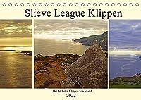 Slieve League Klippen die hoechsten Klippen von Irland (Tischkalender 2022 DIN A5 quer): Irlands hoechsten Klippen, Slieve League (Monatskalender, 14 Seiten )