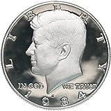 1984 S Proof Kennedy Clad Half Dollar...